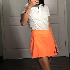 Adidas Climalite Orange Tennis 🎾 Skirt